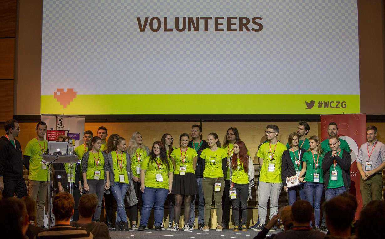 WebCamp Zagreb 2017 Volunteers and Organizers